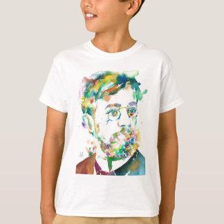HENRI DE TOULOUSE-LAUTREC - watercolor portrait T-Shirt