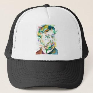 HENRI DE TOULOUSE-LAUTREC - watercolor portrait Trucker Hat