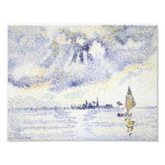 Henri Edmond Cross - Sunset on the Lagoon, Venice Photograph