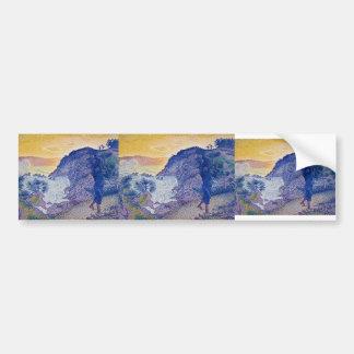 Henri-Edmond Cross- The Return of the Fisherman Bumper Stickers