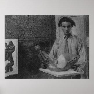 Henri Gaudier-Brzeska Poster