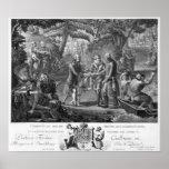 Henri IV  reconciling Frederick William II Poster