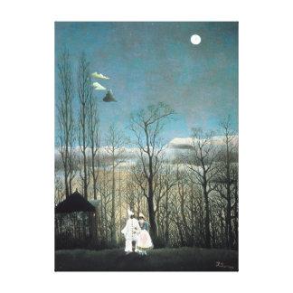 Henri Rousseau Carnival Evening Canvas Print