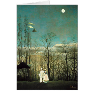 Henri Rousseau Carnival Evening Greeting Card