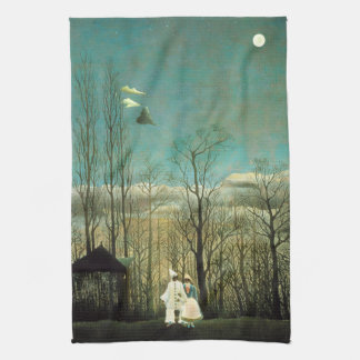 Henri Rousseau Carnival Evening Kitchen Towel