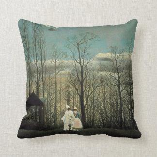 Henri Rousseau Carnival Evening Throw Pillow
