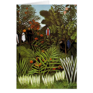 Henri Rousseau - Jungle Landscape Cards
