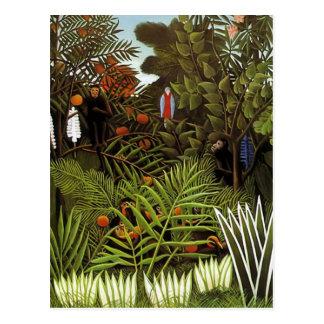 Henri Rousseau - Jungle Landscape Postcards