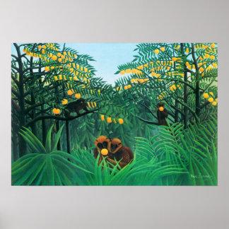 Henri Rousseau l affiche de tropiques
