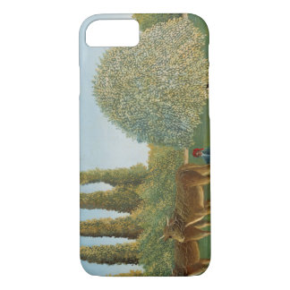 Henri Rousseau - Meadowland iPhone 7 Case