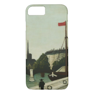 Henri Rousseau - Notre Dame iPhone 7 Case