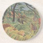 Henri Rousseau Painting Coaster