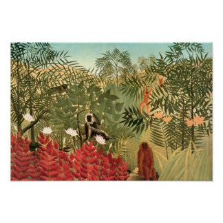 Henri Rousseau Painting Posters