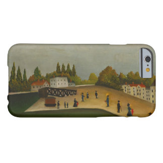 Henri Rousseau - Quai d'Ivry Barely There iPhone 6 Case