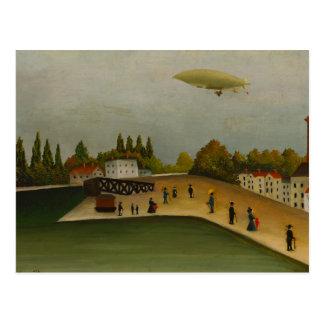 Henri Rousseau - Quai d'Ivry Postcard