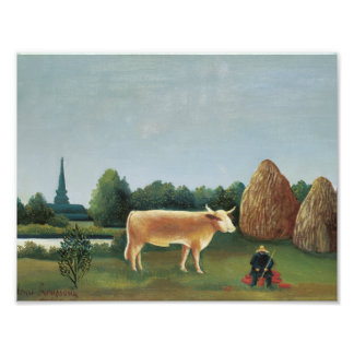 Henri Rousseau - Scene in Bagneux on the Outskirts Art Photo