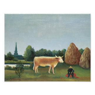 Henri Rousseau - Scene in Bagneux on the Outskirts Photograph