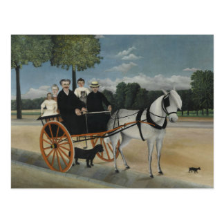 Henri Rousseau - The Carriage of Fr. Junier Postcard