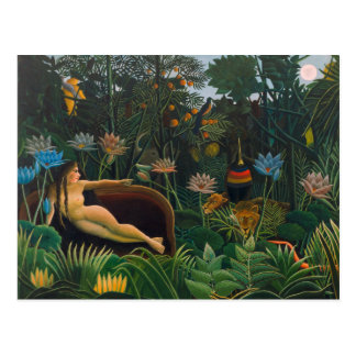 Henri Rousseau The Dream CC0691 Naïvist Postcard