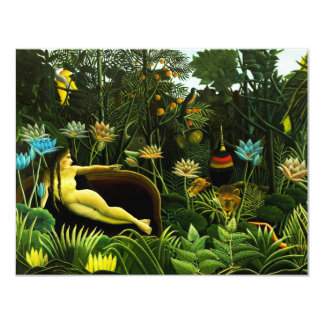 Henri Rousseau The Dream Invitations