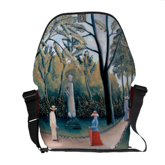 Henri Rousseau - The Luxembourg Gardens Commuter Bag
