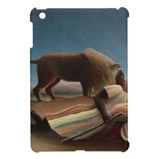 Henri Rousseau The Sleeping Gypsy iPad Mini Covers