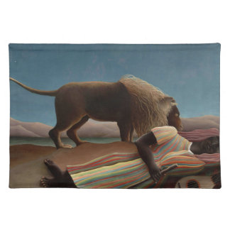 Henri Rousseau The Sleeping Gypsy Placemat