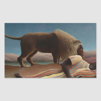 Henri Rousseau The Sleeping Gypsy Sticker