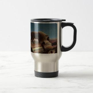 Henri Rousseau The Sleeping Gypsy Travel Mug