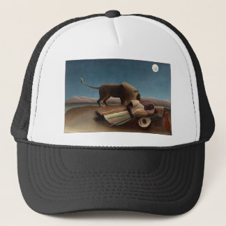 Henri Rousseau The Sleeping Gypsy Trucker Hat