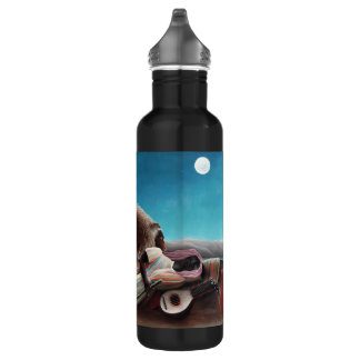 Henri Rousseau The Sleeping Gypsy Vintage 710 Ml Water Bottle