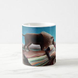 Henri Rousseau The Sleeping Gypsy Vintage Coffee Mug