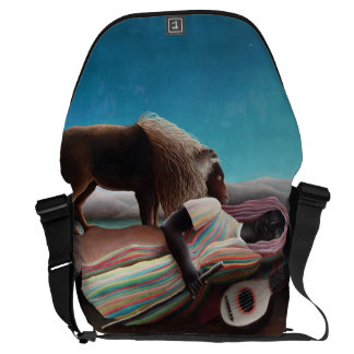 Henri Rousseau The Sleeping Gypsy Vintage Commuter Bags