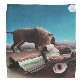 Henri Rousseau The Sleeping Gypsy Vintage Do-rag