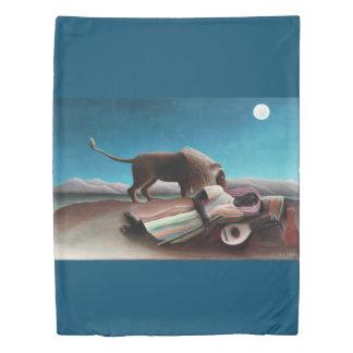 Henri Rousseau The Sleeping Gypsy Vintage Duvet Cover