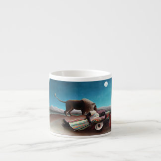 Henri Rousseau The Sleeping Gypsy Vintage Espresso Cup