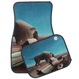 Henri Rousseau The Sleeping Gypsy Vintage Floor Mat