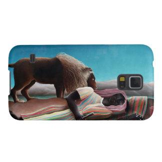Henri Rousseau The Sleeping Gypsy Vintage Galaxy S5 Cover