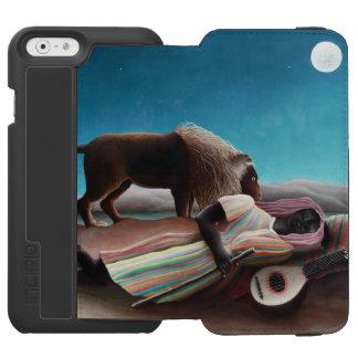 Henri Rousseau The Sleeping Gypsy Vintage Incipio Watson™ iPhone 6 Wallet Case