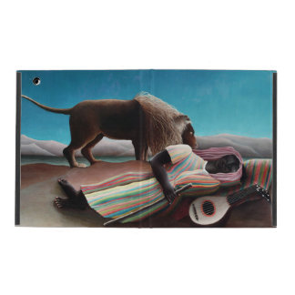 Henri Rousseau The Sleeping Gypsy Vintage iPad Folio Case