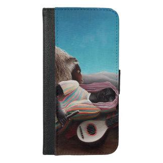 Henri Rousseau The Sleeping Gypsy Vintage iPhone 6/6s Plus Wallet Case