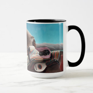Henri Rousseau The Sleeping Gypsy Vintage Mug