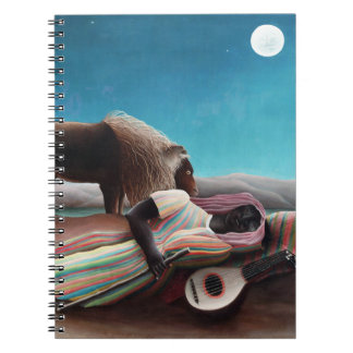 Henri Rousseau The Sleeping Gypsy Vintage Notebooks