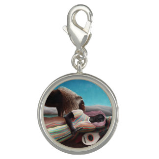 Henri Rousseau The Sleeping Gypsy Vintage Photo Charms