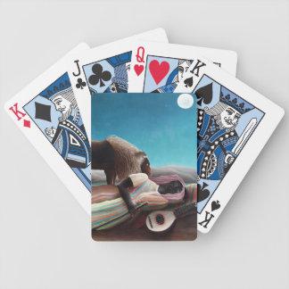 Henri Rousseau The Sleeping Gypsy Vintage Poker Deck