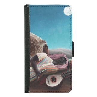 Henri Rousseau The Sleeping Gypsy Vintage Samsung Galaxy S5 Wallet Case
