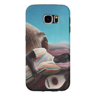 Henri Rousseau The Sleeping Gypsy Vintage Samsung Galaxy S6 Cases
