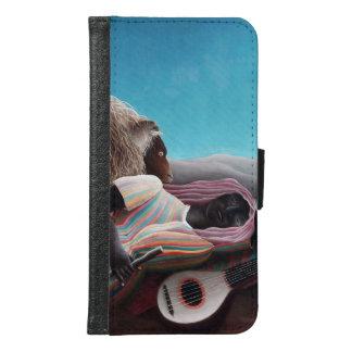 Henri Rousseau The Sleeping Gypsy Vintage Samsung Galaxy S6 Wallet Case
