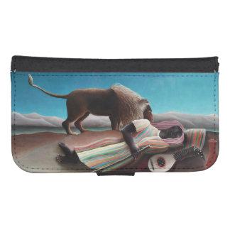 Henri Rousseau The Sleeping Gypsy Vintage Samsung S4 Wallet Case