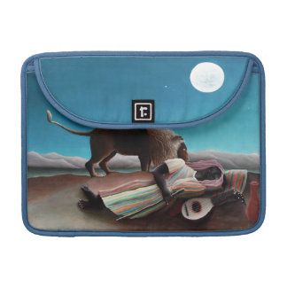 Henri Rousseau The Sleeping Gypsy Vintage Sleeve For MacBook Pro